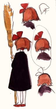 مصدر الصور http://floobynooby.blogspot.com/2011/07/art-of-studio-ghibli-part-3.html